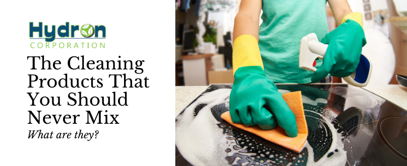 The Cleaning Products That You Should Never Mix