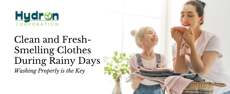 How To Have Clean and Fresh-Smelling Clothes During Rainy Days