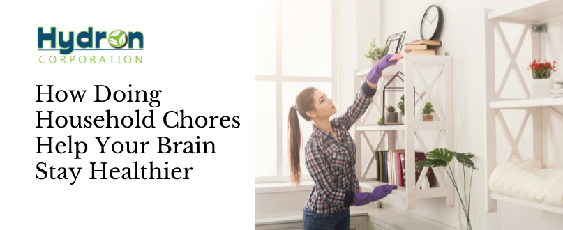 How Doing Household Chores Help Your Brain Stay Healthier