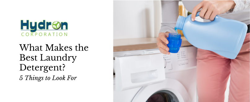 What Makes the Best Laundry Detergent? 5 Things to Look For